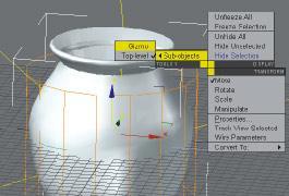 3DMAX凹凸贴图制作陶罐