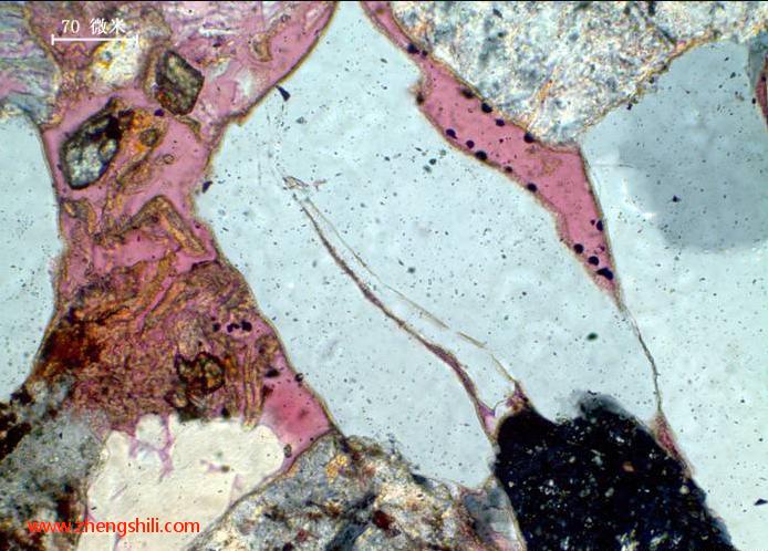 碎屑岩组分的显微镜下特征系列之――石英