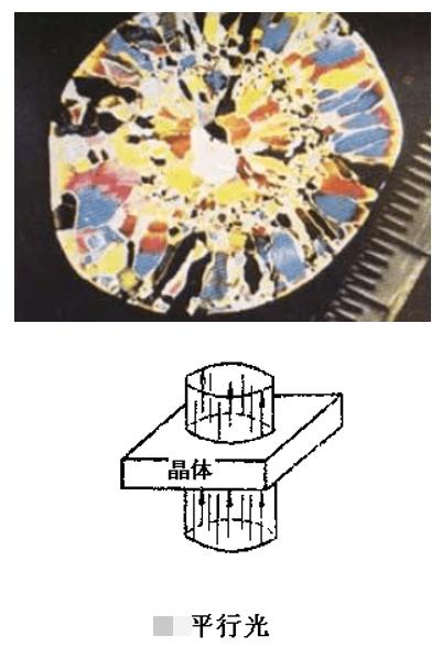 透射聚光镜应用及原理分析――锥光观察