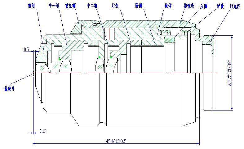 光学镜头的结构设计与装配工艺